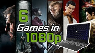 6 Games tested in 1080p | GTX 1660 Ti & i5 9300h - Lenovo Legion Y540 Gaming Laptop