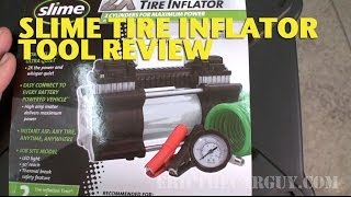 Slime Inflator Tool Review -EricTheCarGuy
