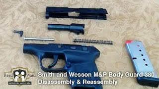 Gun Disassembly & Assembly Guide: S&W M&P BodyGuard 380  | CCW Guardian
