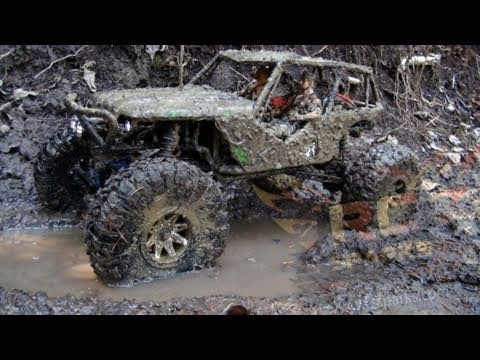 RC ADVENTURES - AXIAL WRAITH in Awesome Sauce - MUD SOUP! Official RCSparks Run