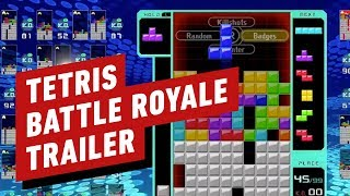 Tetris 99 Reveal Trailer (BATTLE ROYALE) - Nintendo Direct