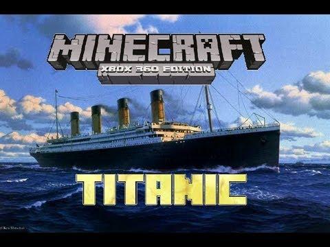 Minecraft (Xbox 360) TITANIC