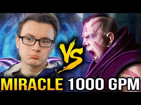 Miracle- Ember Spirit VS 1000GPM Antimage Dota 2 7.07b [Party Game]