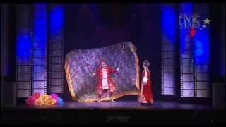 Valeriy Bastrakov with folklor magic act on Monte Carlo Magic Stars