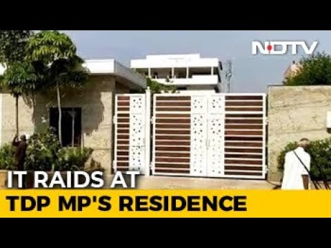 Andhra TDP Lawmaker's Homes, Office In Hyderabad Raided By Tax Officials