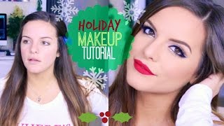 Easy & Fun Holiday Makeup Tutorial!