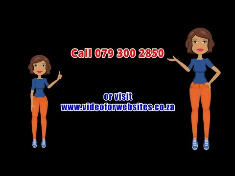 Animated Videos South Africa Call 079 300 2850