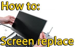 Acer Aspire E1-570, E1-570G, E1-510P disassemble and replace screen,как разобрать и поменять матрицу