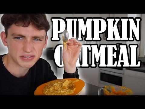a day of eating but it's all pumpkin