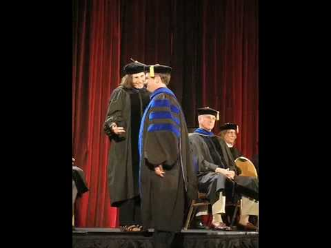 Dr Asa Don Brown Capella University Hooding Ceremony
