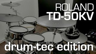 Roland TD-50KV drum-tec Edition electronic drum kit now available
