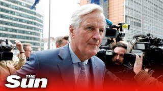 EU's Barnier: 'Be patient, Brexit is like climbing a mountain'