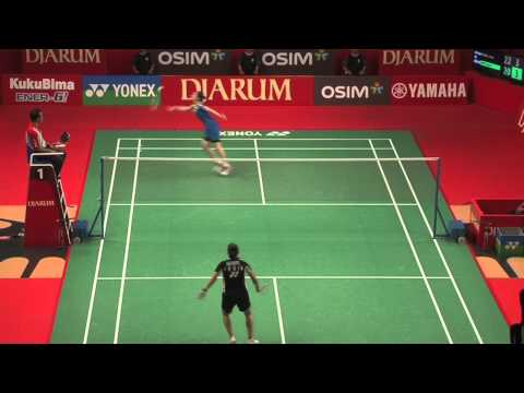Highlight - S.Nehwal vs Sung J.H. - 2012 Djarum Indonesia Open