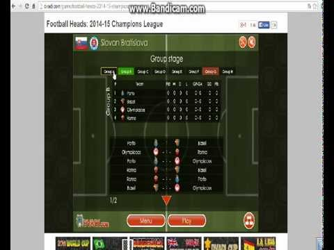 Sports Heads: Head Football Champions League :)