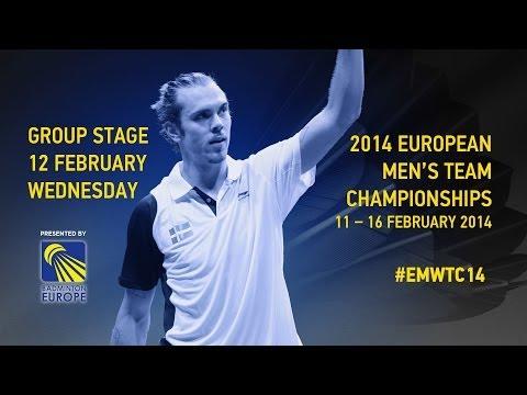 Group Stage - Ben Beckman (ENG) vs Nathan Vervaeke (BEL) - 2014 European Men's Team C'ships