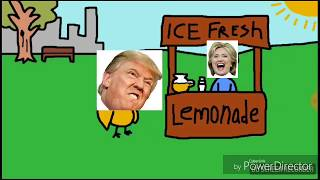 Hillary Clinton and donald trump sing the duck song (official video )