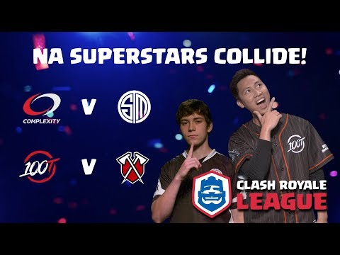CRL North America: Complexity v. Team SoloMid | 100 Thieves v. Tribe Gaming!