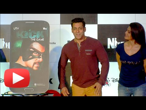 Salman Khans KICK Game Launch !