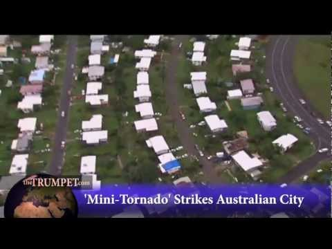 'Mini-Tornado' Strikes Australian City