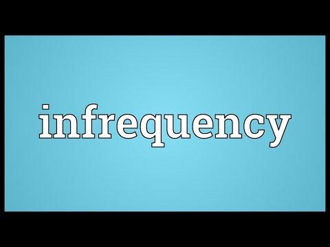Header of infrequency