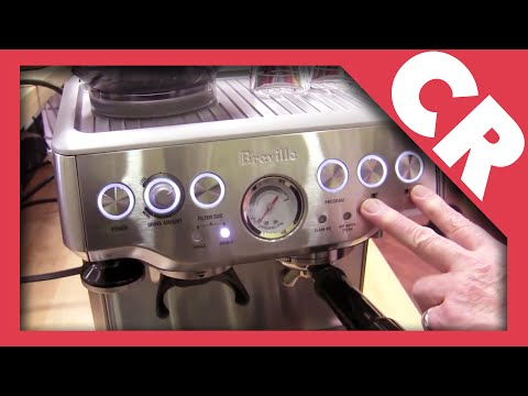 Crew Review: Breville Barista Express BES870XL