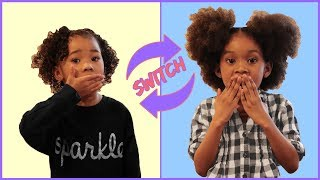 Trading Places | Sekora & Sefari Switch Bodies | Pretend Play