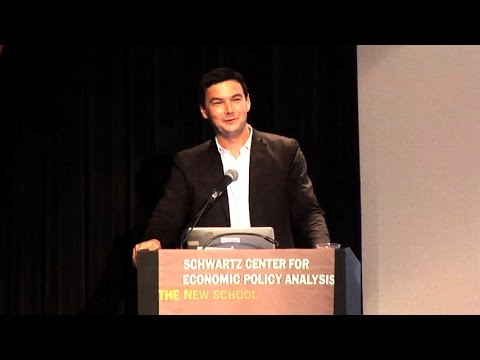 SCEPA Presents Thomas Piketty | The New School for Social Research