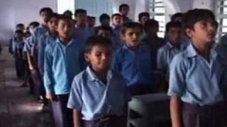 National Song of India 'Vande Mataram' sung By Students of Sanatan Seva Mandal School