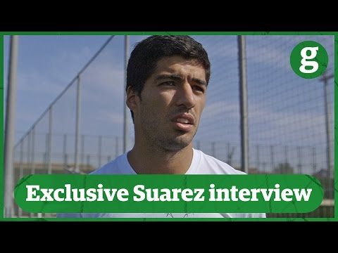 Exclusive: Luis Suarez talks racism, biting and the future