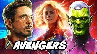 Captain Marvel Trailer - Avengers Endgame Interview Breakdown