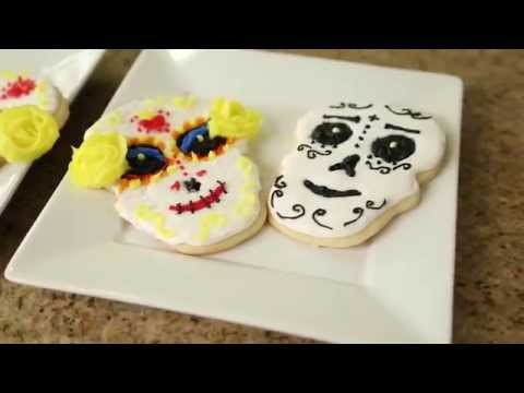 The Book of Life: Sugar Skull Cookies - Quake n Bake