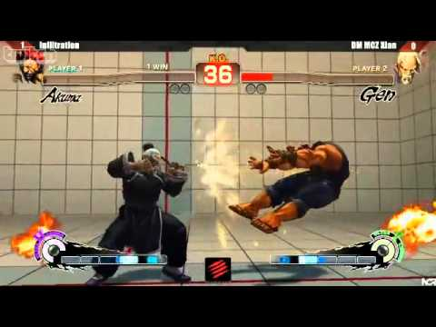 SSFIV:AE v2012 - Infiltration (Akuma) vs. Xian (Gen) - NCR 2013 Grand Final