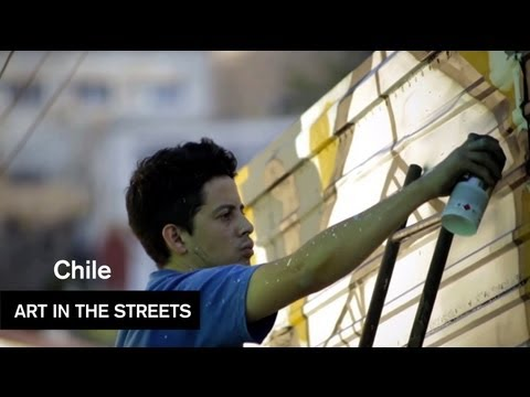 Global Street Art - Valparaiso, Chile - Art in the Streets - MOCAtv
