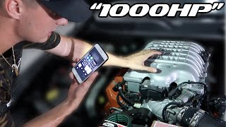 "Making the HELLKEAZY ""1000 HP"" AGAIN! (2016 Hellcat from COPART)pt12"