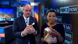 Fox 2 9AM Burger King Impossible Burger Taste Test
