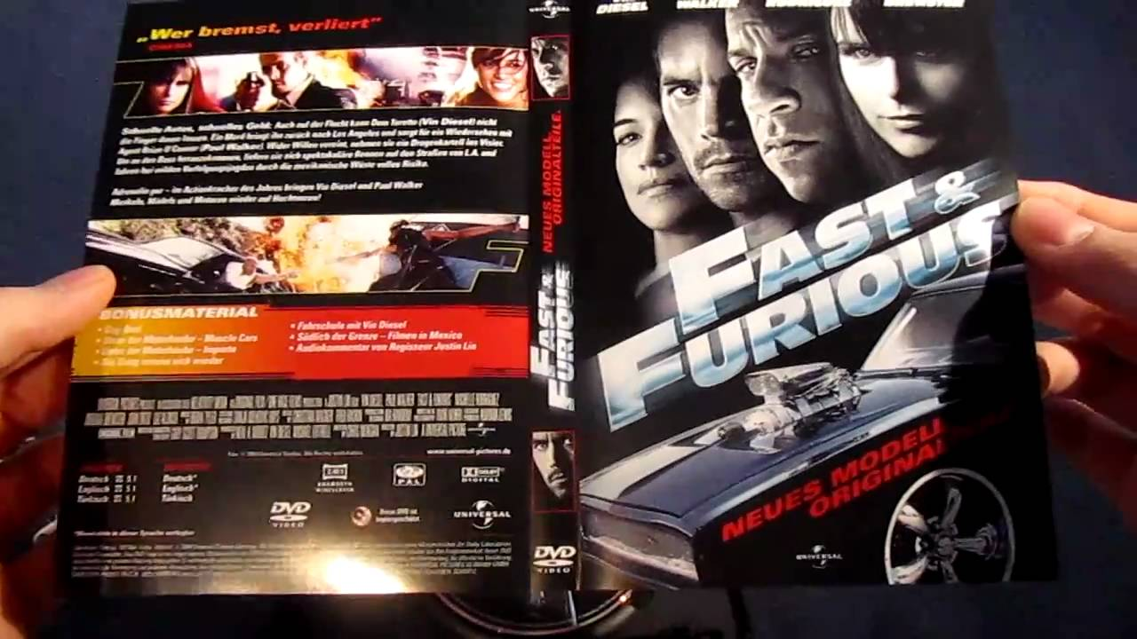 unboxing fast furious 4 dvd youtube. Black Bedroom Furniture Sets. Home Design Ideas
