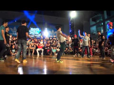 Challenge Cup Bboy 5on5 Best8-4 Hentai Breakers Vs Monster Bboy Crew | 20130810 B.o.t.y. Taiwan video