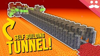 Self Building Nether Tunnels in Minecraft 1.16