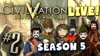Civ 5 Live Part 2 - Staying on Top