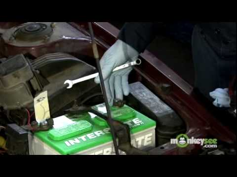 Removing Car Battery Terminals