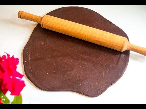 Песочное тесто шоколадное
