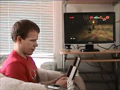 Blind gamer shows how he plays The Legend of Zelda: Ocarina of Time