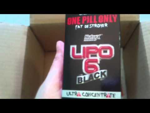 Unboxing Tributado Bodybuilding - Lipo 6 Black Ultra Concentrado (nova formula sem dmaa)
