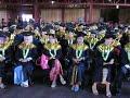 Wisudawan-wisudawati Akper Pemkab Kapuas Angkatan IX Tahun Ajaran 2011-2012