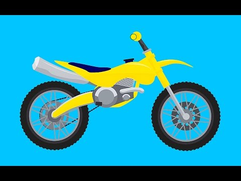 SUPER OLI AND HIS MOTORBIKE - Kids Video
