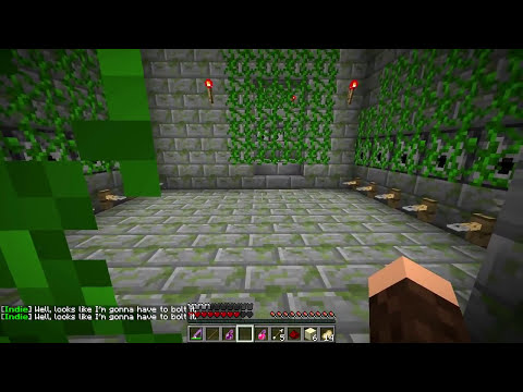 Indiana Monas e o Templo do Bacon! - Minecraft #1?
