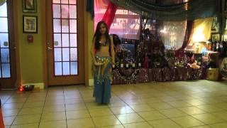 Little girl Belly Dancer- 11-year-old belly dancer Orlando