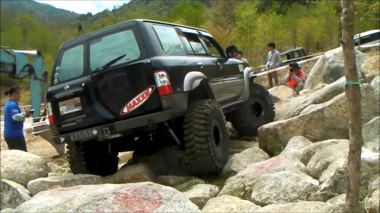 2013 Ocjc Challenge Rock Crawling Ǭ�1戦 652 Nissan Safari