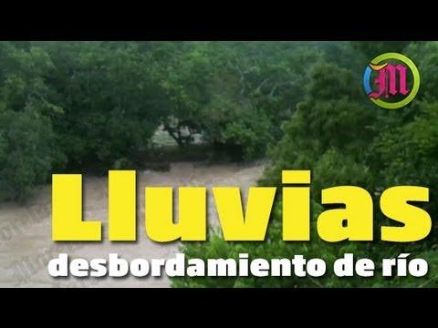 Desbordamiento del río Amacuzac, comunidad de Huajintlán la más afectada