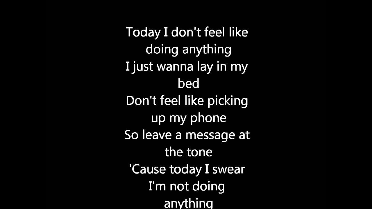 Bruno Mars - The lazy song + Lyrics - YouTube
